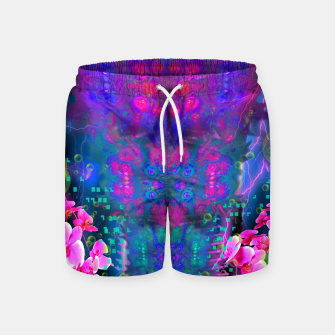 Miniatur Witch Passion Brew (abstract, psychedelic) Swim Shorts, Live Heroes