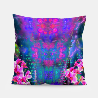 Miniatur Witch Passion Brew (abstract, psychedelic) Pillow, Live Heroes