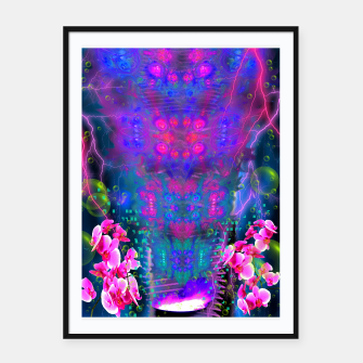 Thumbnail image of Witch Passion Brew (abstract, psychedelic) Framed poster, Live Heroes