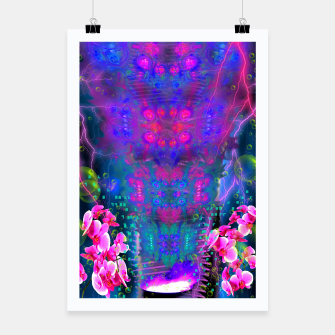 Miniatur Witch Passion Brew (abstract, psychedelic) Poster, Live Heroes