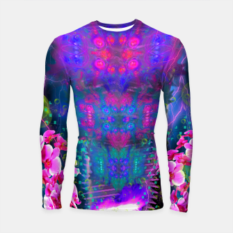 Miniatur Witch Passion Brew (abstract, psychedelic) Longsleeve rashguard , Live Heroes