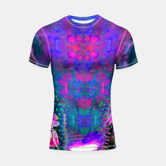 Miniatur Witch Passion Brew (abstract, psychedelic) Shortsleeve rashguard, Live Heroes