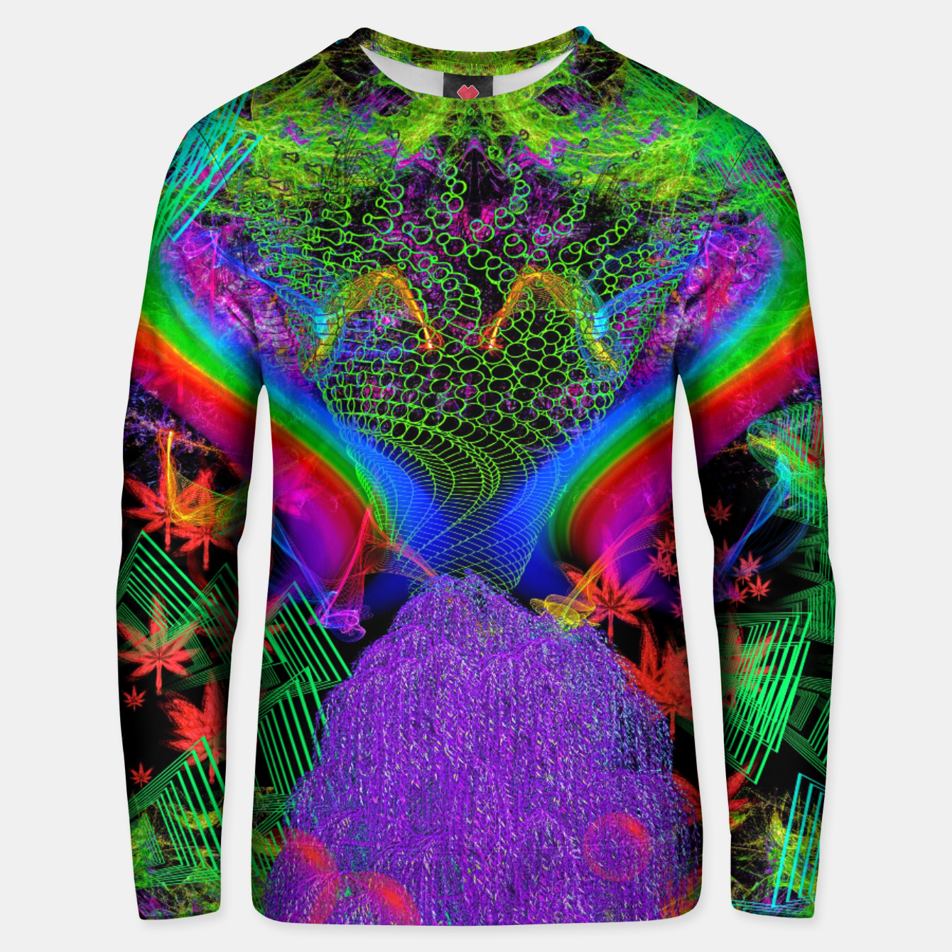Image of Willow Haze Vortex (psychedelic, trippy, visionary) Unisex sweater - Live Heroes