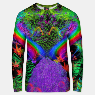Thumbnail image of Willow Haze Vortex (psychedelic, trippy, visionary) Unisex sweater, Live Heroes