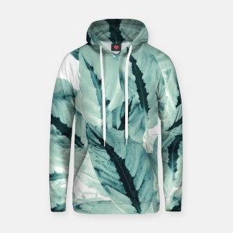 Thumbnail image of Tropical Jungle Leaves #1 #tropical #decor #art Kapuzenpullover, Live Heroes