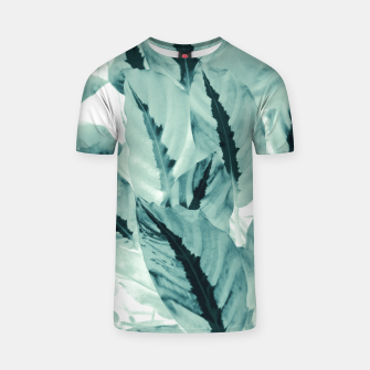 Thumbnail image of Tropical Jungle Leaves #1 #tropical #decor #art T-Shirt, Live Heroes