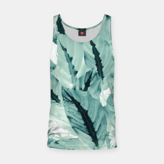 Thumbnail image of Tropical Jungle Leaves #1 #tropical #decor #art Muskelshirt , Live Heroes