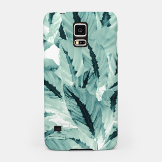 Thumbnail image of Tropical Jungle Leaves #1 #tropical #decor #art Handyhülle für Samsung, Live Heroes