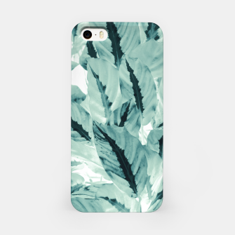 Thumbnail image of Tropical Jungle Leaves #1 #tropical #decor #art iPhone-Hülle, Live Heroes