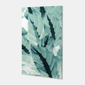 Thumbnail image of Tropical Jungle Leaves #1 #tropical #decor #art Canvas, Live Heroes