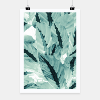 Thumbnail image of Tropical Jungle Leaves #1 #tropical #decor #art Plakat, Live Heroes