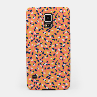 Miniaturka Sun-kissed Flowers in the Coral Gardens  Samsung Case, Live Heroes