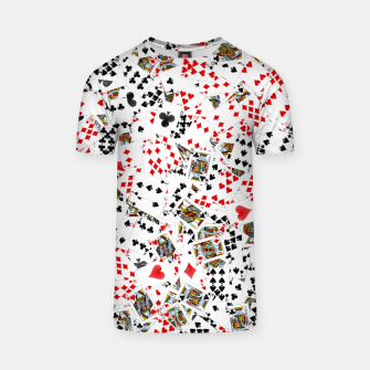 Thumbnail image of Playing cards T-shirt, Live Heroes