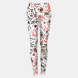 Thumbnail image of Playing cards Leggings, Live Heroes