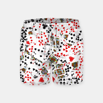 Thumbnail image of Playing cards Swim Shorts, Live Heroes