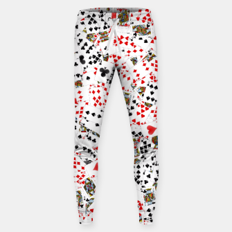 Thumbnail image of Playing cards Sweatpants, Live Heroes