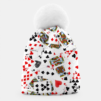 Thumbnail image of Playing cards Beanie, Live Heroes