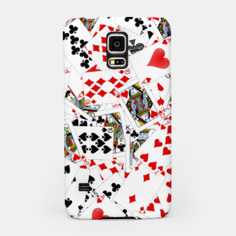 Miniaturka Playing cards Samsung Case, Live Heroes