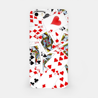 Thumbnail image of Playing cards iPhone Case, Live Heroes