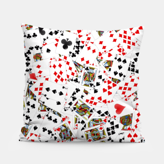 Thumbnail image of Playing cards Pillow, Live Heroes