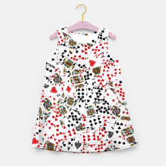 Thumbnail image of Playing cards Girl's summer dress, Live Heroes