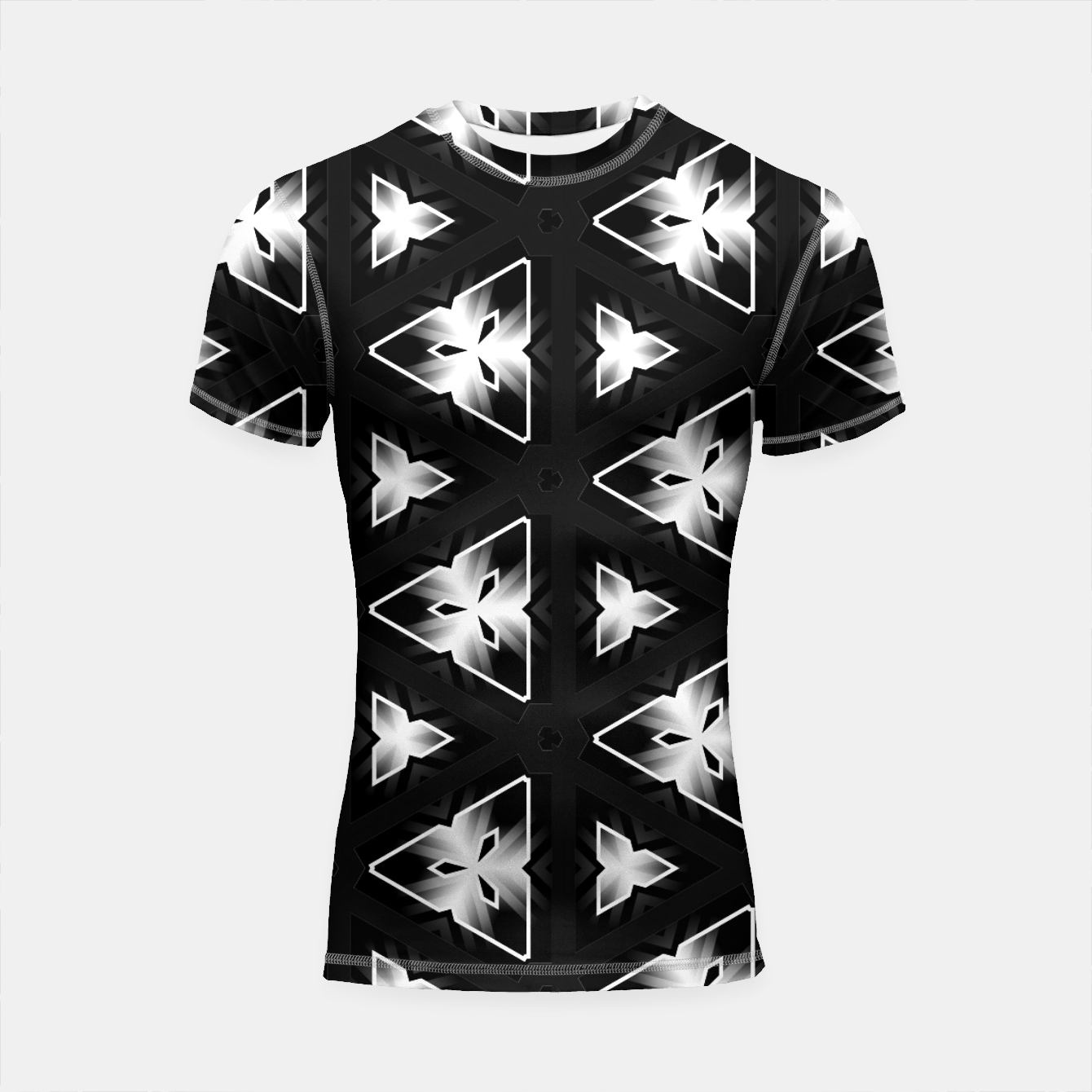 Image of Edge Light Shortsleeve rashguard - Live Heroes