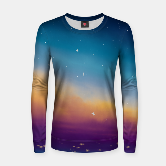 Thumbnail image of Sky Women sweater, Live Heroes