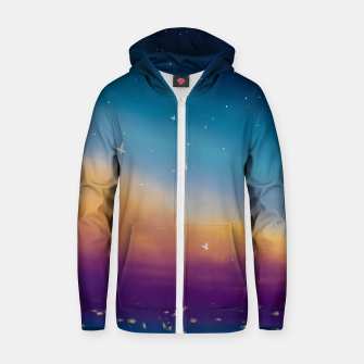 Thumbnail image of Sky Zip up hoodie, Live Heroes