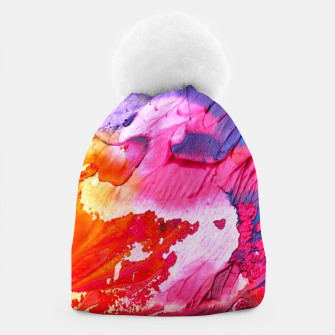 Thumbnail image of Watercolors Beanie, Live Heroes
