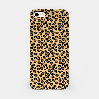 Thumbnail image of Classic Black and Yellow / Brown Leopard Spots Animal Print Pattern iPhone Case, Live Heroes