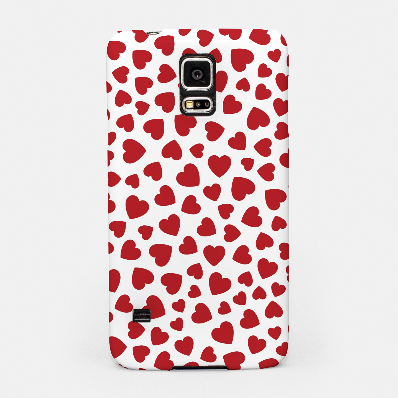 Image of Whole Lotta Love Hearts Pattern Samsung Case - Live Heroes