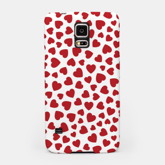 Whole Lotta Love Hearts Pattern Samsung Case thumbnail image