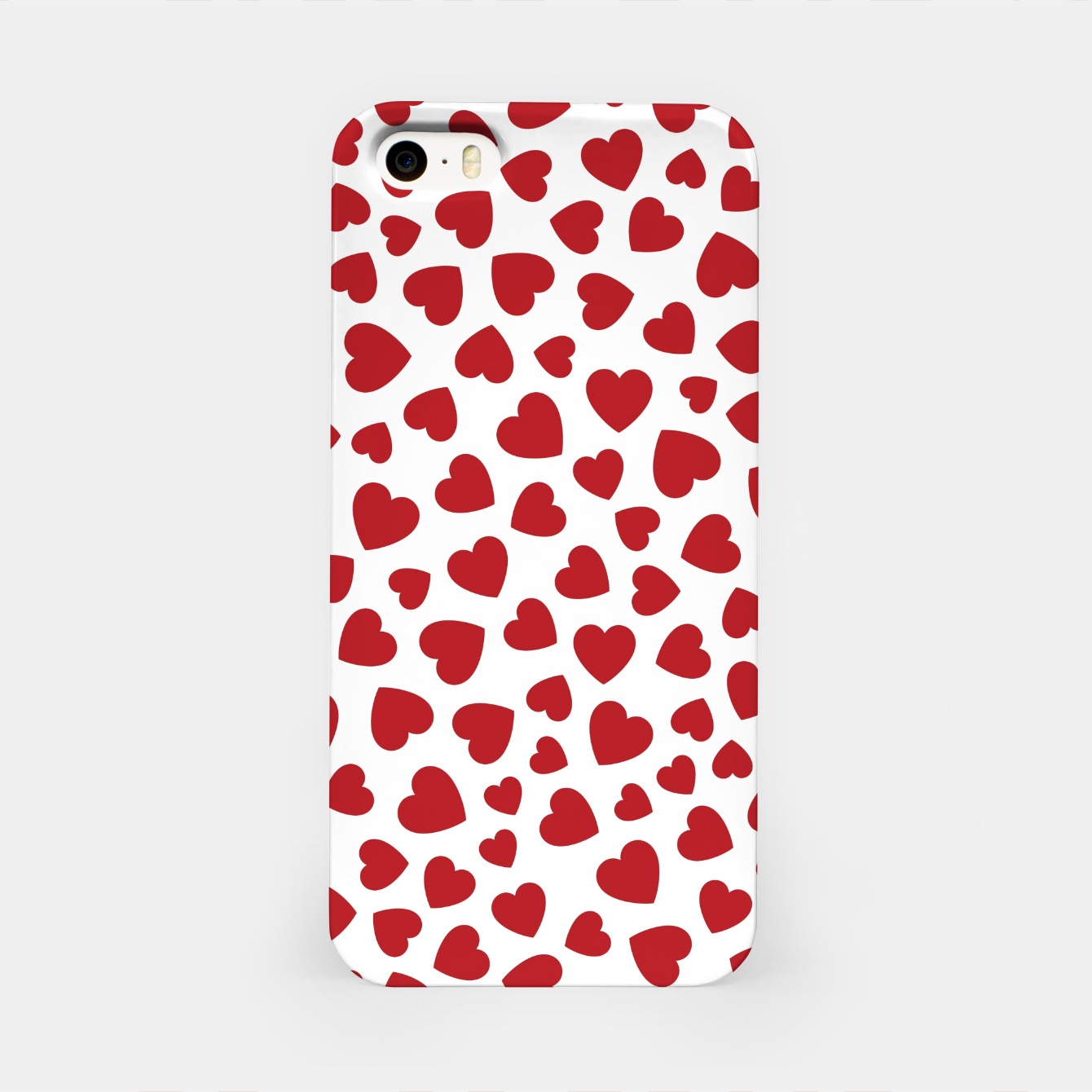 Image of Whole Lotta Love Hearts Pattern iPhone Case - Live Heroes