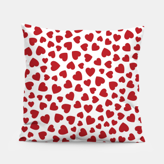 Whole Lotta Love Hearts Pattern Pillow thumbnail image