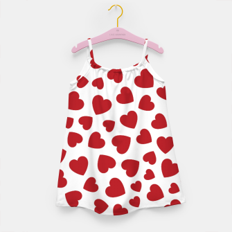 Thumbnail image of Whole Lotta Love Hearts Pattern Girl's dress, Live Heroes