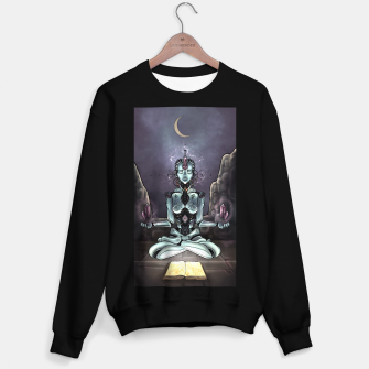 Thumbnail image of Meditating Android Sweater regular, Live Heroes