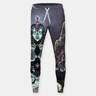 Thumbnail image of Meditating Android Sweatpants, Live Heroes
