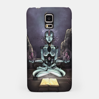 Thumbnail image of Meditating Android Samsung Case, Live Heroes