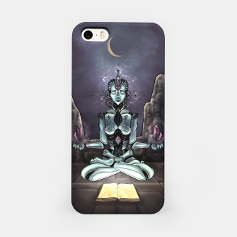 Thumbnail image of Meditating Android iPhone Case, Live Heroes