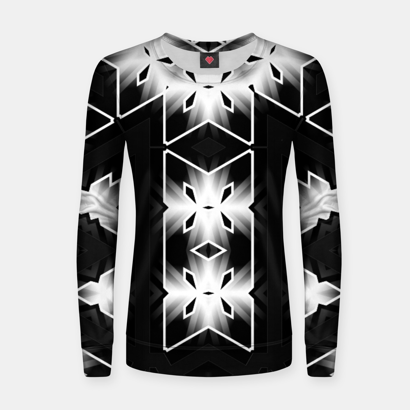 Image of The Edge Of Light Women sweater - Live Heroes