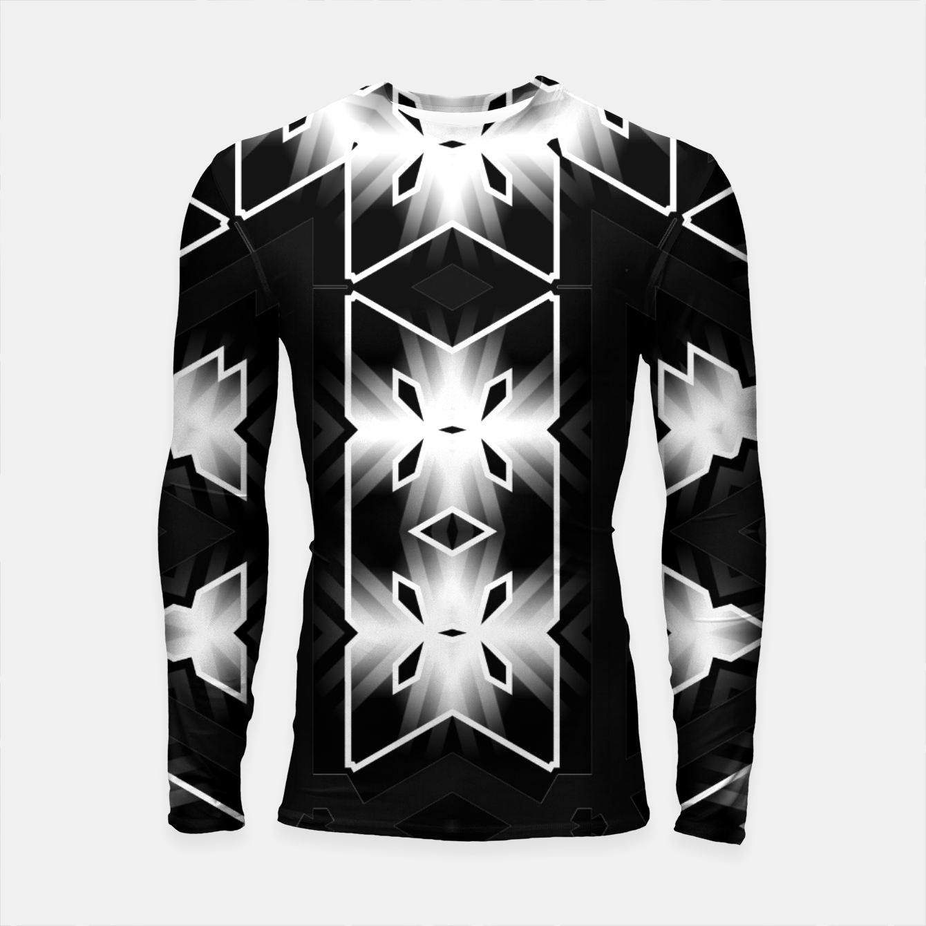 Image of The Edge Of Light Longsleeve rashguard  - Live Heroes