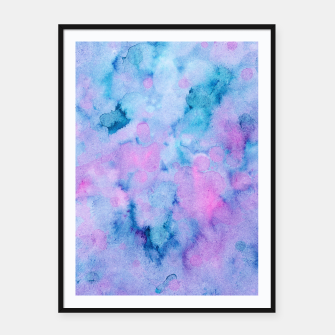 Thumbnail image of Mermaid Unicorn Abstract Painting #1 #ink #decor #art  Plakat mit rahmen, Live Heroes