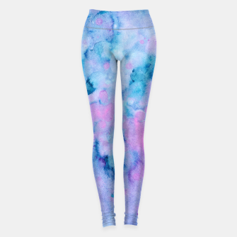 Thumbnail image of Mermaid Unicorn Abstract Painting #1 #ink #decor #art  Leggings, Live Heroes