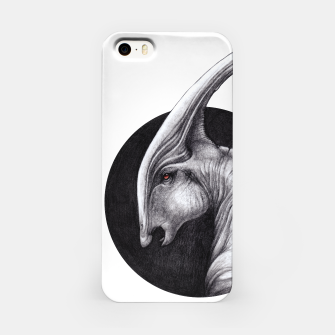 Thumbnail image of Albino Parasaurolophus iPhone Case, Live Heroes