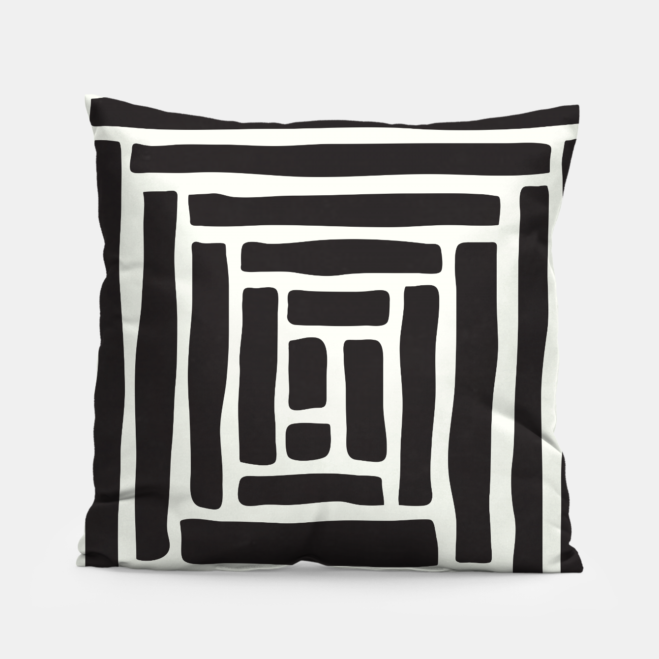 Image of Geometric Tile Network Pillow - Live Heroes