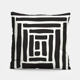 Thumbnail image of Geometric Tile Network Pillow, Live Heroes