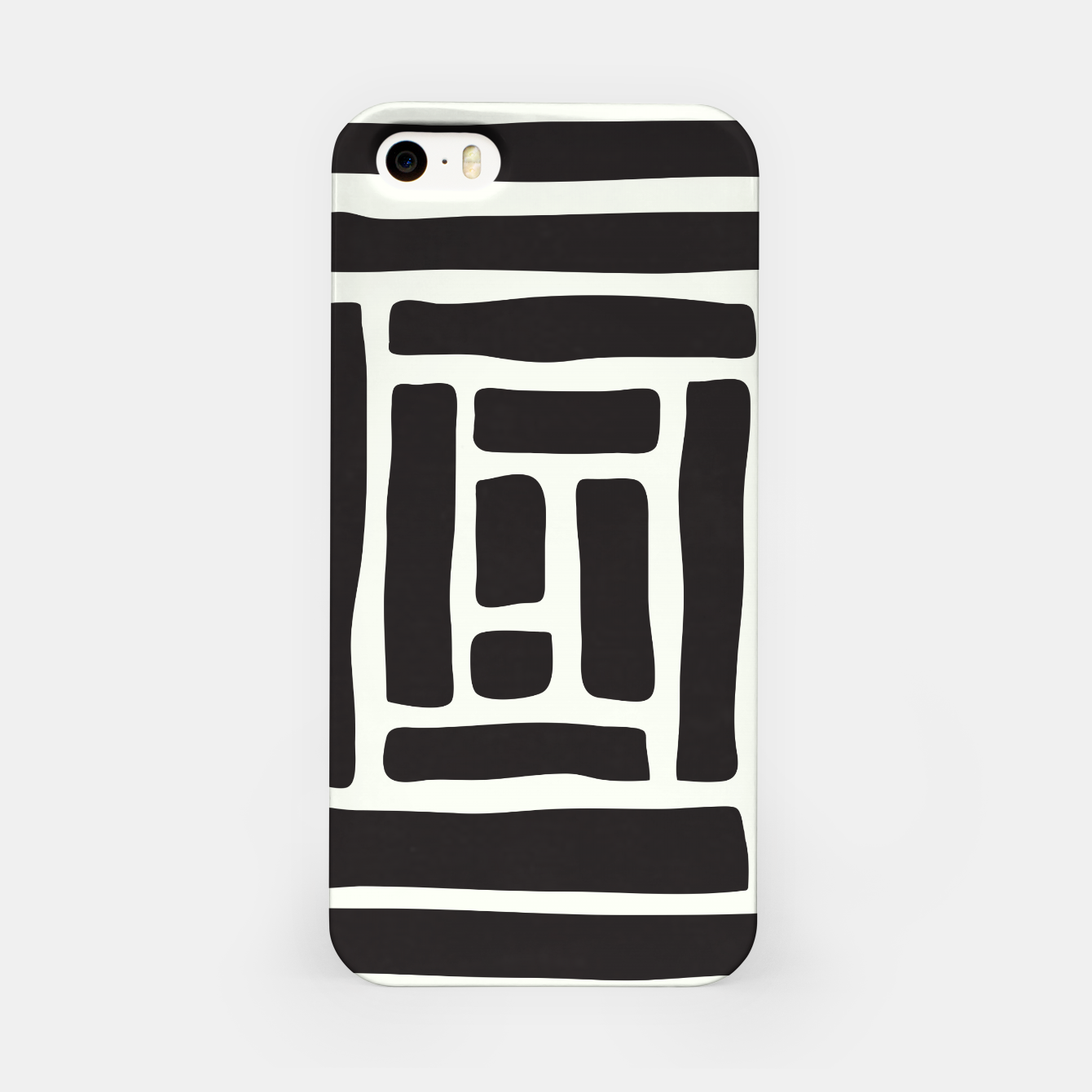 Image of Geometric Tile Network iPhone Case - Live Heroes
