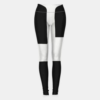 Thumbnail image of Odd Shapes In A Living Room Leggings, Live Heroes