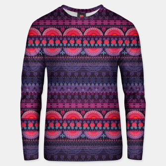 Thumbnail image of Tribal Pattern - 01 Sunset Unisex sweater, Live Heroes