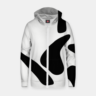Thumbnail image of Human Body Shapes Zip up hoodie, Live Heroes